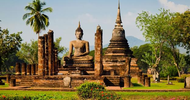 Đền cổ Wat mahathat