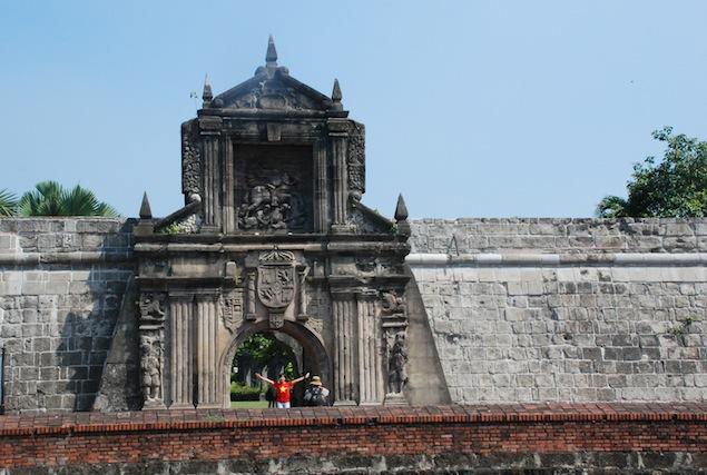 Pháo đài Fort Santiago