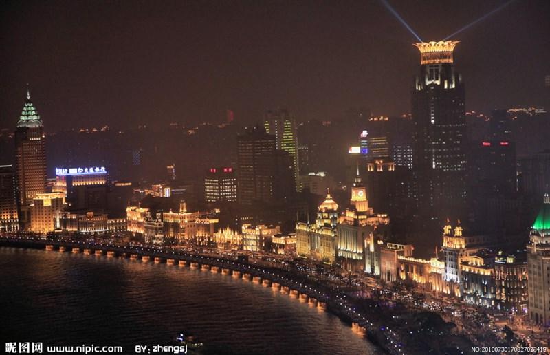 Bến Thượng Hải về đêm