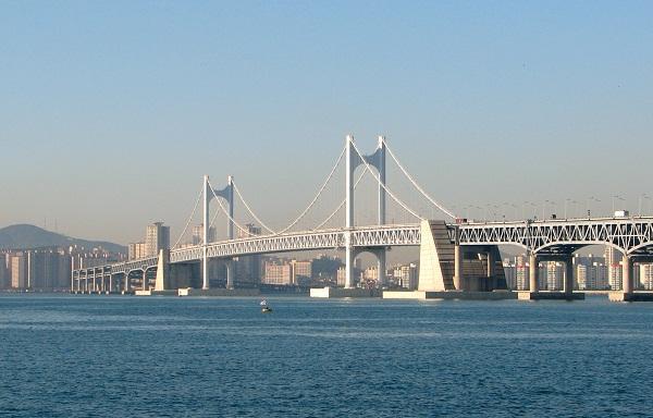 cầu Gwangan - biểu tượng của Busan