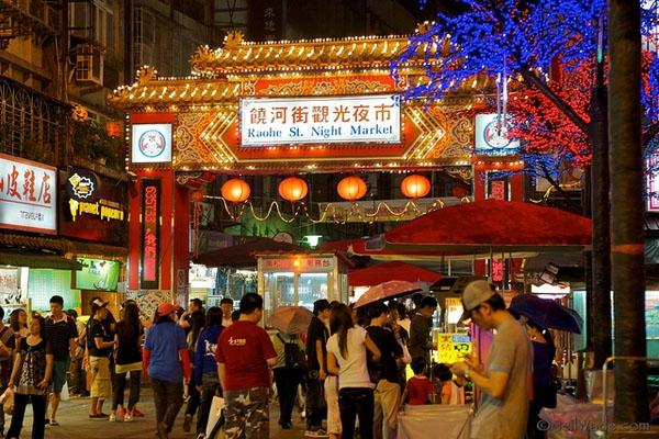 Chợ đêm Đài Loan