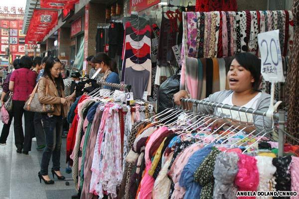 mua sắm ở Thượng Hải