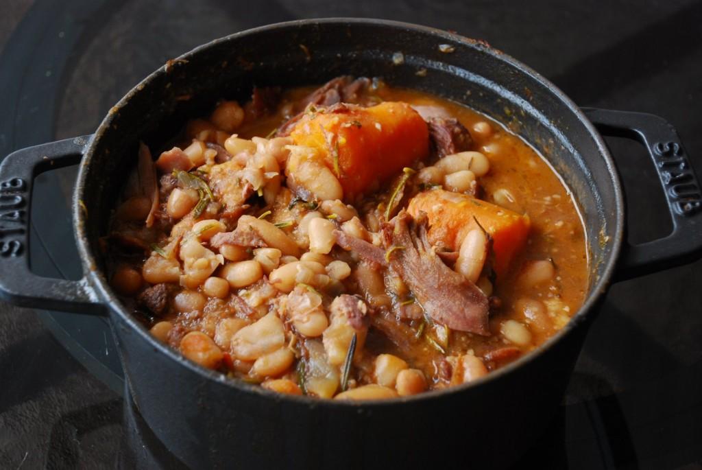 Cassoulet: Ragu thịt và đậu