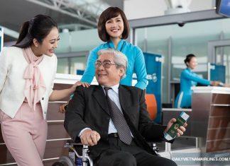 Quy định hành khách hạn chế khả năng di chuyển đi máy bay
