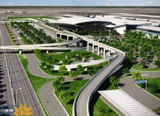 Tổng thể sân bay quốc tế Nội Bài