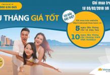 Vietnam Airlines khuyến mại vé máy bay quốc tế