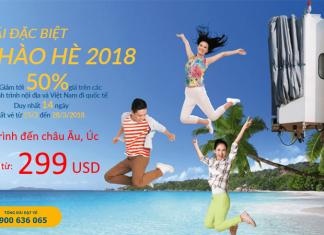 Vietnam Airlines khuyến mại vé máy bay đi châu Âu, Úc