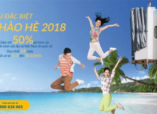 Vietnam Airlines khuyến mại giảm 50% giá vé