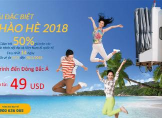Vietnam Airlines KM vé từ 49 USD