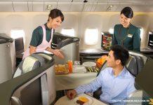 Hạng vé thương gia của Vietnam Airlines