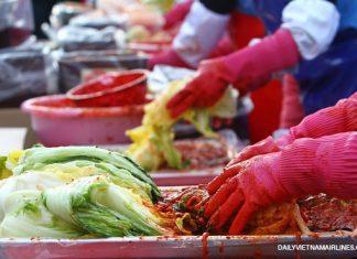 Seoul Kimchi festival- Một số lễ hội mùa thu Hàn Quốc