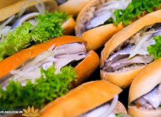 Sandwich fischbroetchen