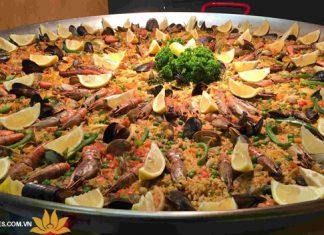 Cơm truyền thống paella