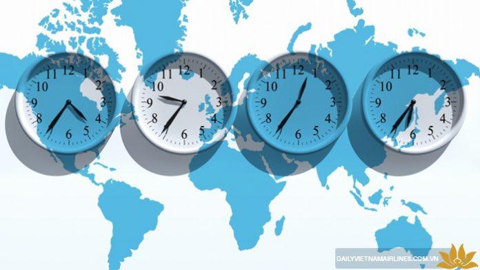 Tập thích nghi với múi giờ nơi bạn đến