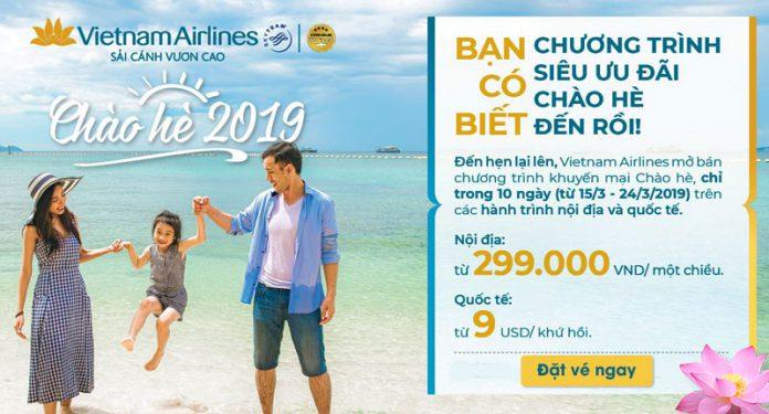 Chào hè 2019 từ Vietnam Airlines