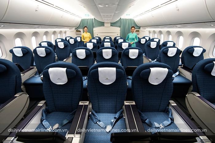 Khoang phổ thông của Vietnam Airlines