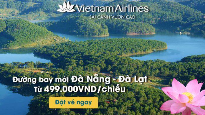 Vé máy bay khuyến mãi đường bay mới từ Đà Nẵng đi Đà Lạt
