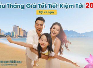 Vietnam Airlines khuyến mãi 20% giá vé đầu tháng 5